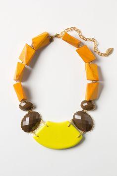 neck wear | sunpoints necklace {anthropologie}
