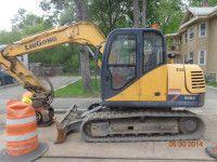 2010 LIUGONG CLG908 III Crawler Excavator http://www.heavyequipment.us/listings/2010-liugong-clg908-iii-crawler-excavator-2/