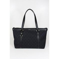 7d027c84fd Amazon.com  Gucci Handbags Black Fabric and Leather 268640  Shoes