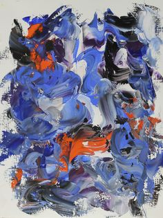 Tassia Bianchini - E.42 [Nightmares], 2013, oil on papers