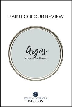 Learn all about one of the most popular gray paint colours with GORGEOUS undertones - Sherwin Williams Argos! LRV, best white paint for trim, usage and more #kylieminteriors #bestpaintcolours #colourreview #paintreview #sherwinwilliams #argos #gray #grey Warm Gray Paint, Warm Paint Colors, Best Gray Paint Color, Paint Colors For Home, Neutral Paint, Sherwin Williams Amazing Gray, Anew Gray Sherwin Williams, Balanced Beige, Colors