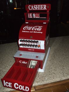 1931 National Cash Register Coca Cola Theme