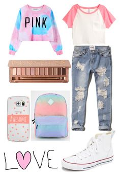 """""""Untitled #286"""" by soccer-freak9 ❤ liked on Polyvore featuring H&M, Chicnova Fashion, Abercrombie & Fitch, Urban Decay, Casetify, Converse and Vans"""