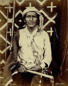 Navajo man - circa 1880