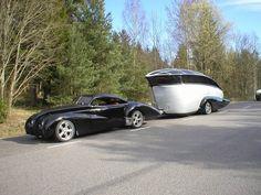 Spotted on Ozrodders ,streamliner custom | Vintage Caravans