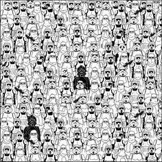 Das Bild des Tages: Finde den Panda, Star Wars Version