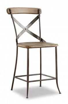 Keystone Counter Chair by #Flexsteel via Flexsteel.com