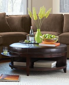 "Park West Table Collection - Coffee, Console & End Tables - 40"" D - Macy's Reg. $949.00 (Sale $749.00) - Sale ends 4/16/14"