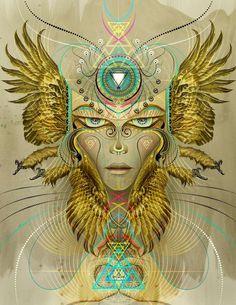 100 Psychedelic Art Designs - From Trippy Feral Digital Art to Hypnotic LSD Illustrations (TOPLIST)