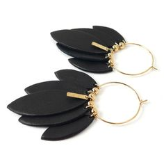 THELMA creole earrings by Cuisine Française