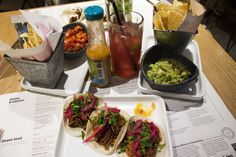 - Places to eat : Wahaca.
