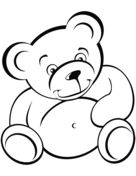 Teddy Bear Coloring pages. Select from 31983 printable Coloring pages of cartoons, animals, nature, Bible and many more. Teddy Bear Coloring Pages, Heart Coloring Pages, Coloring Pages To Print, Printable Coloring Pages, Coloring Pages For Kids, Coloring Books, Teddy Bear Outline, Teddy Bear With Heart, Christmas Teddy Bear