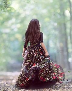 Garden Soiree Gown by Anna Triant Couture Cute Girl Photo, Girl Photo Poses, Girl Poses, Little Girl Gowns, Gowns For Girls, Girls Dresses, Girls Dp Stylish, Stylish Girl Images, Stylish Outfits