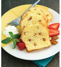 "For Recipe: CLICK on PIC and when taken to 2nd pic click again..Butter Pecan Pound Cake...  ...Recipe by George Stella... ...For tons more Low Carb recipes visit us at ""Low Carbing Among Friends"" on Facebook"