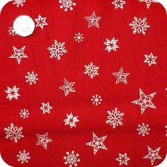 Christmas - Xmas Fabric 1 METRE Scandinavian Style, 100% Cotton, Red, Green. | eBay