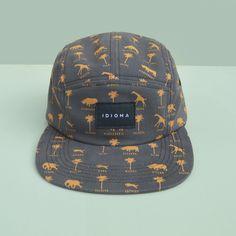 Safari 5 Panel Camp hat, Idioma