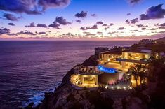 Great Vacation Spots, Cabo San Lucas Mexico, Luxury Villa Rentals, Baja California, Best Vacations, Vacation Destinations, San Diego, Cliff, Real Estate