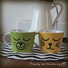 Maluju hrnky dětem do školky Mugs, Tableware, Dinnerware, Tumblers, Tablewares, Mug, Dishes, Place Settings, Cups
