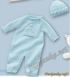 Wool knit onesie Baby girl bodysuit Knit romper girl Baby kThis Pin was discovered by VаlZoom in (real dimensions: 436 xDo it yourself and Crafts Knitting For Kids, Baby Knitting Patterns, Crochet For Kids, Baby Patterns, Baby Cardigan, Baby Pullover, Baby Romper Pattern, Baby Overalls, Knitted Romper