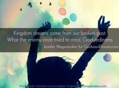 Today, we introduce you to a God-sized dreamer, named Jennifer Wagenmaker. She is the visionary behind the women's conference, Legacy. Jennifer, a married mama to five boys, knows all too well wh...