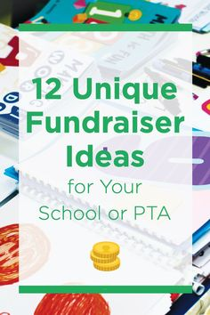 Try these unique fundraising ideas for your school., Try these unique fundraising ideas for your school. Pta School, School Fundraisers, School Fundraising Ideas, Unique Fundraising Ideas, Fundraising Events, Fundraising Activities, School Auction, School Ideas, School Projects