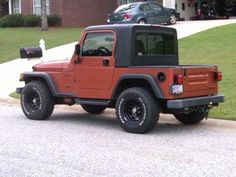 Half hardtop kit for YJ Jeep