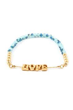 Blue Vitrail Crystal Hope Bracelet | Emma Stine Jewelry Bracelets