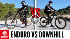 Watch: Enduro Vs Downhill Mountain Bike Race | Which Is Faster?. Singletracks Mountain Bike News.