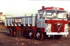 Tilcon Trucks - My dad used to take me to work in these lorries Vintage Trucks, Old Trucks, Old Lorries, Heavy Duty Trucks, Commercial Vehicle, Classic Trucks, Heavy Equipment, My Dad, Spikes