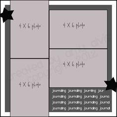 4 X 6 Photo Sketch Blog: 12 x 12 - 84