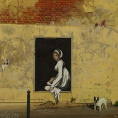Zilda in Rennes, France ,street art