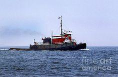 Red Tug by Skip Willits
