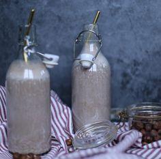 Nutella milkshake Nutella Milkshake, Bottle, Decor, Decoration, Flask, Dekoration, Inredning, Interior Decorating, Deco