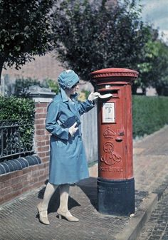 # Rare 1928 Colored Photographs, Just Stunning! 12