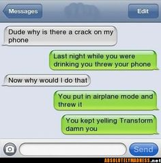 hilarious texts | Funny Text Joke – LMAO! « Jokes R Us