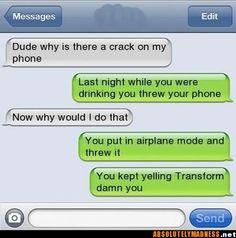 hilarious texts | Funny Text Joke – LMAO! « Jokes R Us