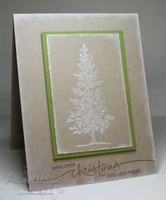 Lovely as a Tree Christmas - Stampin' Up!