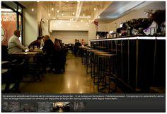 Light and Bar design for Burger bar Oslo #lights # artdeco #bar
