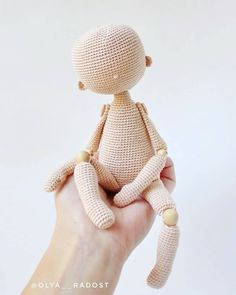 Knitting Patterns Toys Photo in the style of 'nude'! Curvy Female Doll Base No Sew - Amigurumi Crochet Pattern Girl Woman Human Realistic Life-Like Body Anime Art Doll Customizable Toy Plush Yarn Dolls, Knitted Dolls, Crochet Dolls, Crochet Doll Pattern, Crochet Patterns Amigurumi, Amigurumi Doll, Knitting Patterns, Tutorial Amigurumi, Doll Tutorial