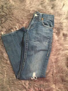 "TRUE Religion MENS ""JOEY Big T"" Jeans Sz 29/33 Distressed Frayed Bottom  | eBay"
