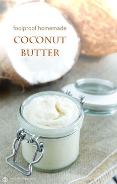 Homemade Coconut Butter (low-carb, keto, paleo)