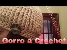 ▶ Gorro a Crochet ( ganchillo ) - YouTube
