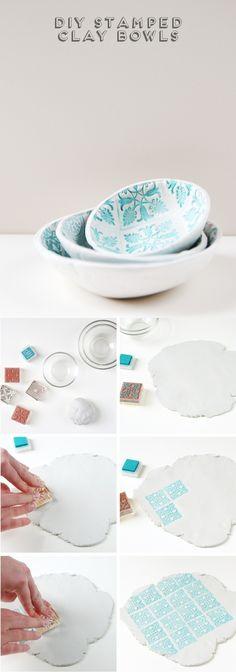 Fabrica tus propios bowls de arcilla                                                                                                                                                     Más