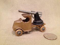 Tootsie Toy Gunner Truck by TrashAngelTreasures on Etsy, $60.00