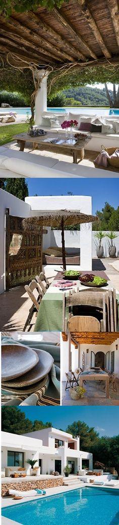 ¿Veis la última foto? Sobre las tumbonas una alegre Fouta turquesa... We love it . www.purehouseibiza.com