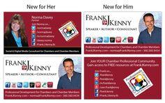 New business card design/revisions for Frank and Norma :) Business Card Design, Business Cards, Professional Development, Digital Media, Visit Cards, Carte De Visite