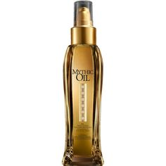 L'Oreal Professionnel Mythic Oil Original Oil (100ml) ($24) ❤ liked on Polyvore featuring beauty products, haircare, styling products, hair styling products and l'oréal paris
