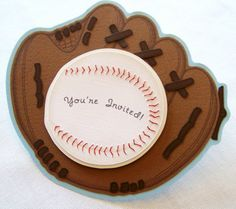 baseballcut babi, birthday parties, baseball cards, birthday idea, baseball party