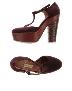 666a8dc7fe L' AUTRE CHOSE - Platform pumps// all I want are a pair of t-strap chunky  heels!