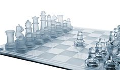 """Glass Chess Set, 3 Sizes (7.5\""""/10\""""/14\"""") - Elegant Design- Durable Build- Fully Functional - 32 Frosted & Clear Pieces - Felted Bottoms- Easy to Carry- Reassuringly Stable - Perfect Gift! (10\"""" x 10\"""") -- Read more reviews of the product by visiting the link on the image."""